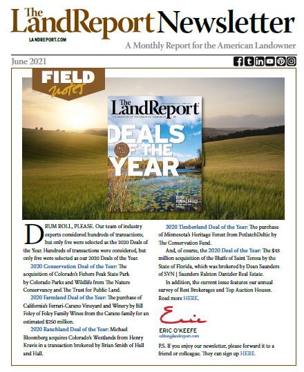 Land Report Newsletter June 2021