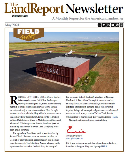 Land Report Newsletter May 2021