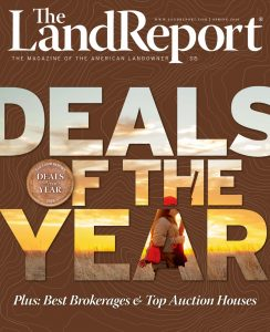The Land Report spring 2020 cover