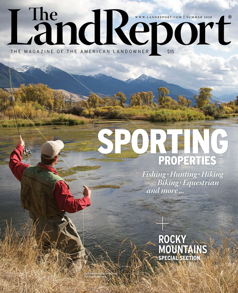 The Land Report Summer 2020 cover